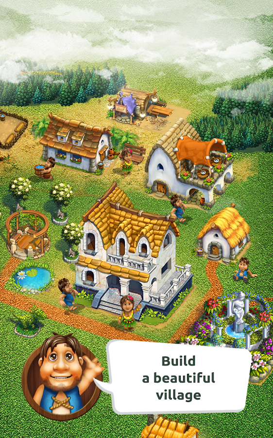 The Tribez: Build a Village Screenshot 1