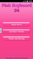 Screenshot of Pink Keyboard S4