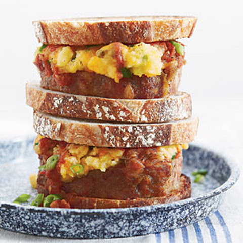 Ashley's Meatloaf-and-Mashed Potato Sandwiches