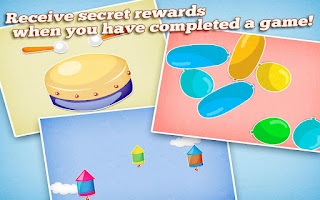 Screenshot of Games for kids