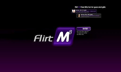 flirtm8-meet-flirt-chat for android screenshot