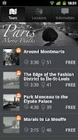 Screenshot of Paris Movie Walks