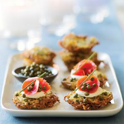 Herbed Yukon Gold Potato Latkes