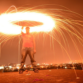 by Ravi Tez - Abstract Fire & Fireworks