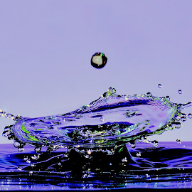 Water drops by Fred Øie - Abstract Water Drops & Splashes ( abstract )