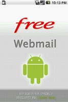 Screenshot of Webmail Free.fr