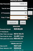 Screenshot of Juros Fácil