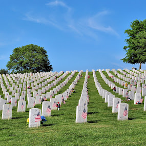 National Cemetery, Pruntyown WV by Karen Hardman - City,  Street & Park  Cemeteries (  )