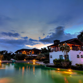 An evening at Bandipur by Madhujith Venkatakrishna - Buildings & Architecture Office Buildings & Hotels