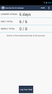 Daily Goal Tracker | Log Pro - screenshot