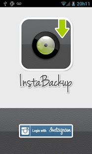 Instabackup - Instagram backup - screenshot