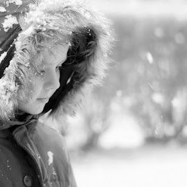 Snow by Danielle Pedder - Novices Only Portraits & People