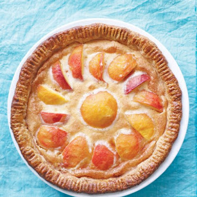 Peach-Custard Pie