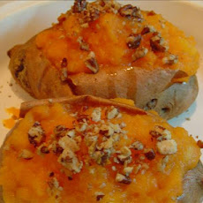 Stuffed Baked Sweet Potatoes
