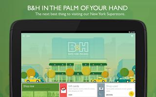 Screenshot of B&H Photo Video Pro Audio