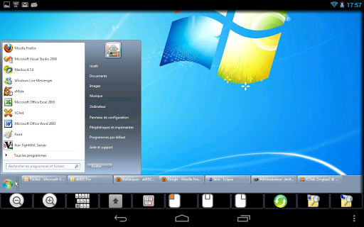 akrdcfree-vnc-viewer for android screenshot