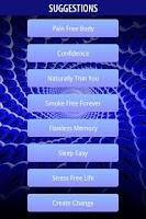 Screenshot of Mobile Hypnotist MAX