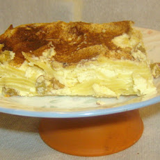 Sweet Cream Cheese Noodle Kugel