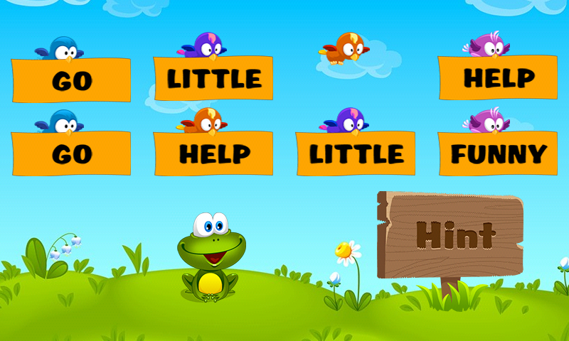 Kids Reading Sight Words Screenshot 2