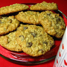 Wonderful Chocolate, Oat, Chip Cookies