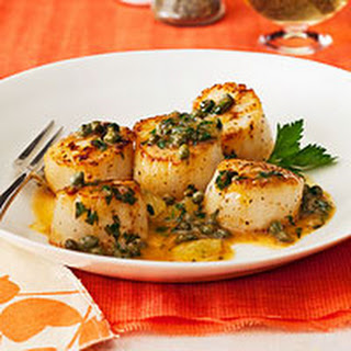 Lemon-Caper Scallops