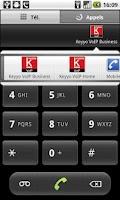 Screenshot of Keyyo VoIP