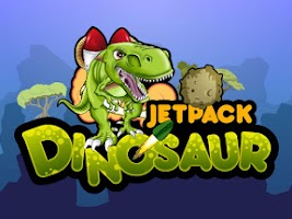 Screenshot of Jetpack Dinosaur