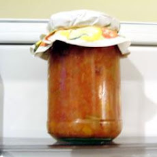 Tomato and Peach Chutney