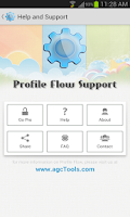 Screenshot of Profile Flow