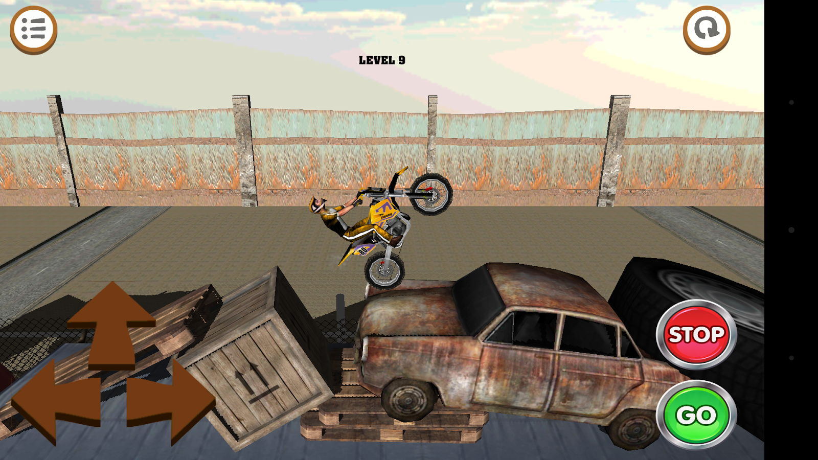 3D Motocross Bike: Industrial Screenshot 2