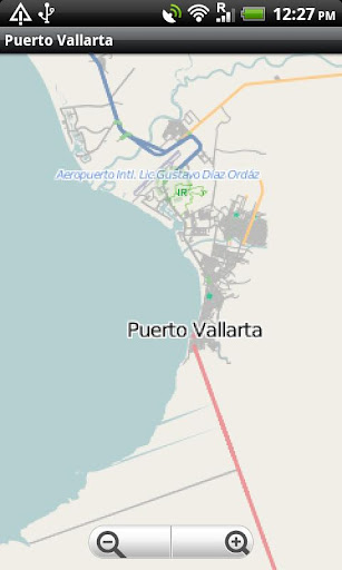 Puerto Vallarta Street Map