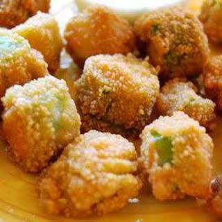 Fried Okra Without Cornmeal Recipes