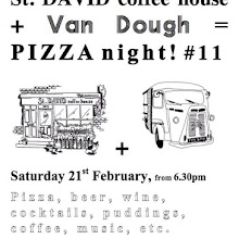 Van Dough pizza at St David
