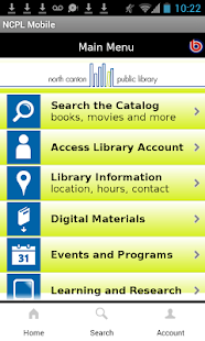 North Canton Public Library - screenshot