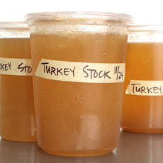 Basic Turkey Stock Recipe