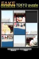 Screenshot of FAKE miniature TOKYO puzzle
