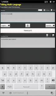 App Spanish English Translator APK for Windows Phone