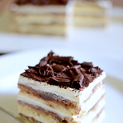 Heavenly Eggless Tiramisu