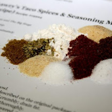 Lawry's Taco Spices & Seasoning Mix (Copycat Recipe)