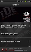 Screenshot of Top Dawg Entertainment