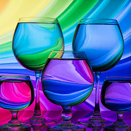 Colors of spectrum by Rakesh Syal - Artistic Objects Glass (  )