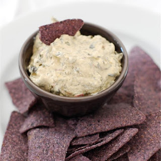 Simple Caramelized Shallot & Spinach Dip