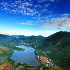 Cebong Lake  by Hardiantono Putro - Landscapes Mountains & Hills