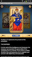 Screenshot of Tarot of Marseille Lite