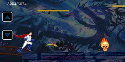 Screenshot of Superman Run