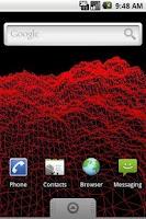Screenshot of Terrain Live Wallpaper Free