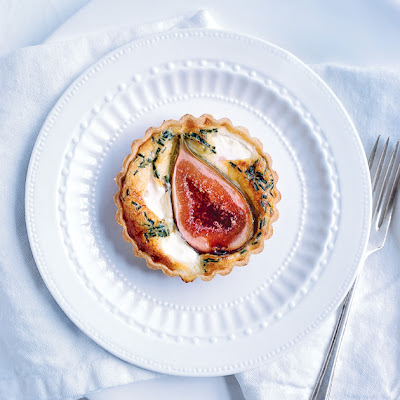 Fig And Goat's Cheese Tart