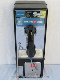 Single Slot Payphones - Pacific Bell loc A-1 1