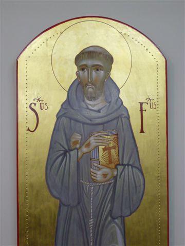 S. Francesco d'Assisi, Icone Bizantine di Fra Tommaso Rignanese OFM dans immagini sacre 00010