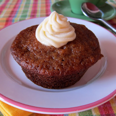 Carrot Cake Muffins With Cream Cheese Filling
